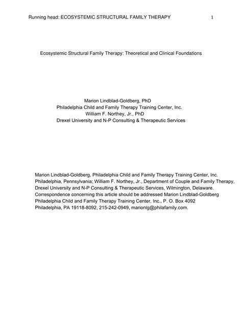 pengertian layout family therapy ecosystemic structural family therapy pdf download