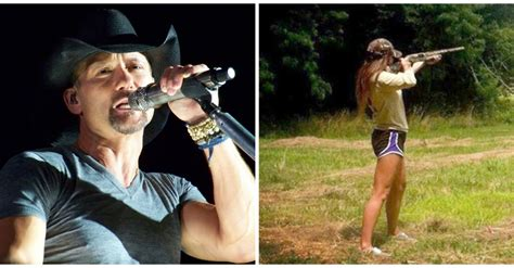 countrys tim mcgraw headlines anti gun concert heres his tim mcgraw s daughter loves god guns what would daddy