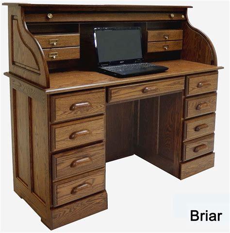 Oak Roll Top Computer Desk by 51 3 8 Quot W Solid Oak Roll Top Laptop Notebook Tablet Desk