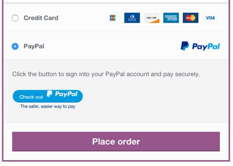 Paypal Powered By Braintree Woocommerce Docs Paypal Payment Template