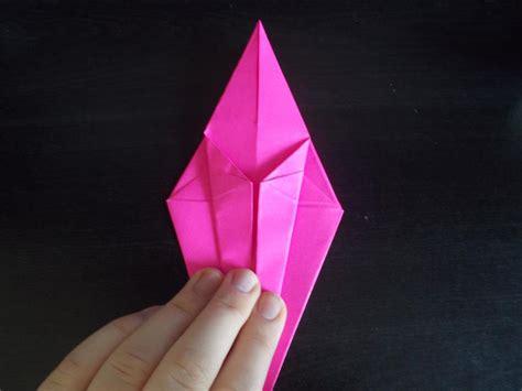 Origami Crane With Legs - traditional origami crane