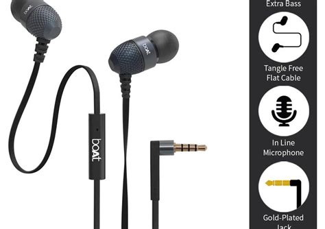 Jual Phrodi Strong Bass 600 Earphone With Microphone Headset Headpho 1 boat bassheads 200 in ear wired earphones with mic worth rs 1100 for rs 449