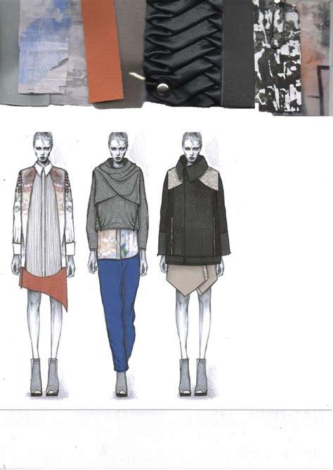 fashion design portfolio sles 17 best images about design sketchbooks on pinterest