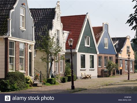 buying house in netherlands traditional dutch houses in amsterdam north stock photo royalty free image 68414299