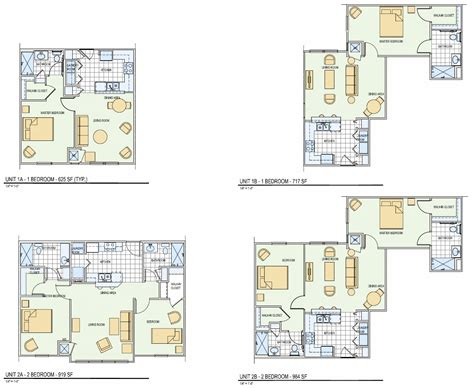 unit floor plans whats new