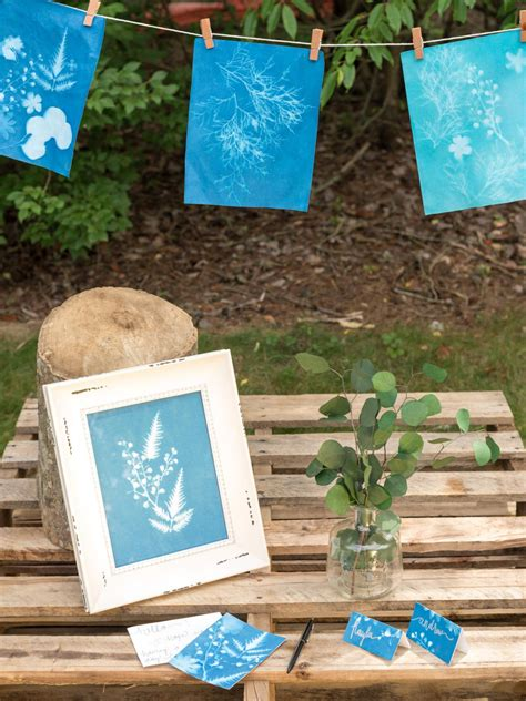 Hgtv Handmade - easy paper craft diy sun prints hgtv