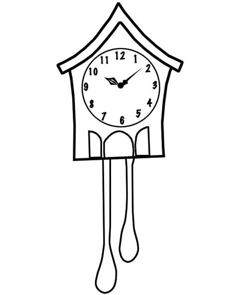 printable cuckoo clock template cuckoo clock template pinterest in action kids things