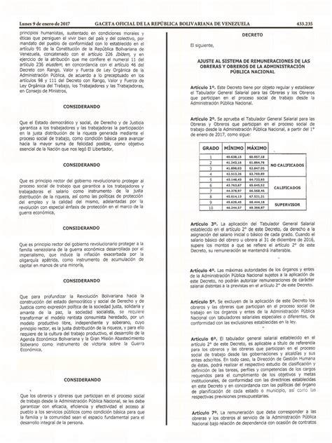 gaceta oficial de 50 de sueldo para bomberos septiembre 2016 descarga la gaceta oficial n 250 mero 41 070 con el aumento