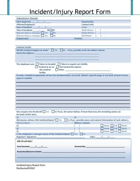 sle of security incident report form and cyber security