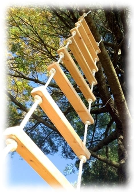 tree house ladder design rope ladders 12 foot rope ladder from treehouse supplies