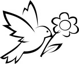 Simple flower coloring coloring pages