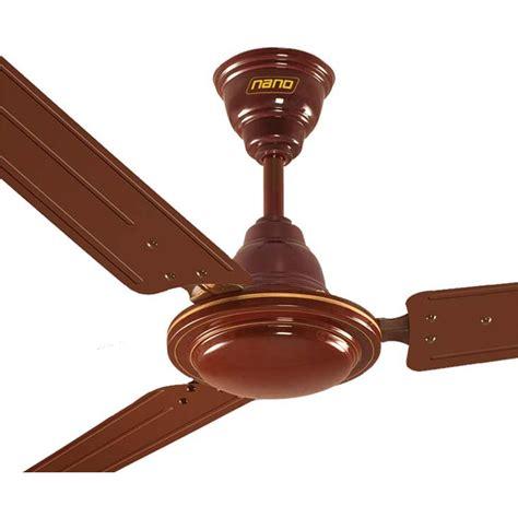 Khaitan Ceiling Fan Price khaitan nano 48 ceiling fan brown best deals with price comparison shopping price
