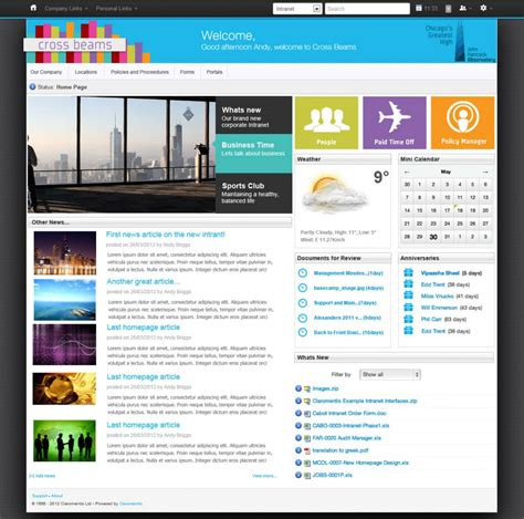 sketchbook user guide 8 features your intranet must claromentis