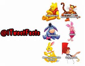Winnie the pooh characters mental disorders images amp pictures becuo