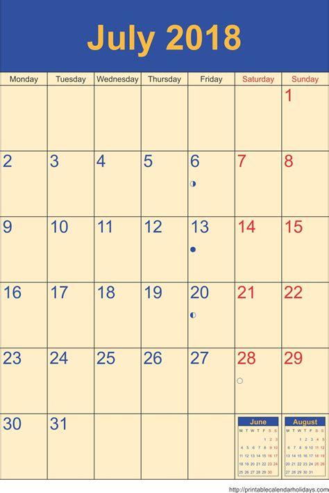 july  archives  printable calendar