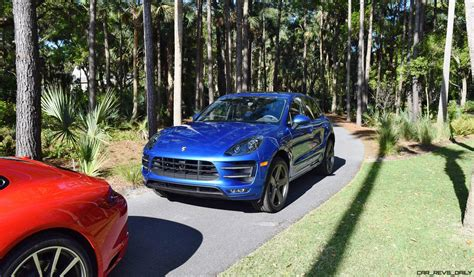 porsche macan 2016 blue kiawah 2016 highlights 2016 porsche macan turbo in