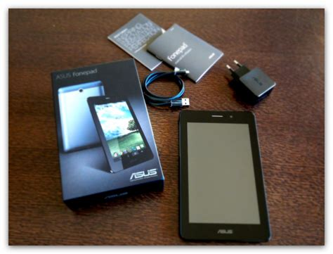 Unboxing Asus Fonepad Pplware