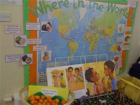 story themes for early years where in the world display classroom display class