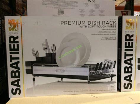 Dish Rack Costco by Sabatier Premium Dish Rack Costcochaser