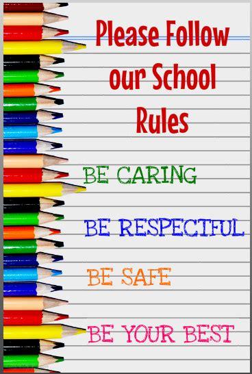 school rules  behaviour consequences st teresas school karori