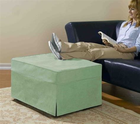 pull out bed ottoman rv ottoman that doubles as a memory foam pull out bed