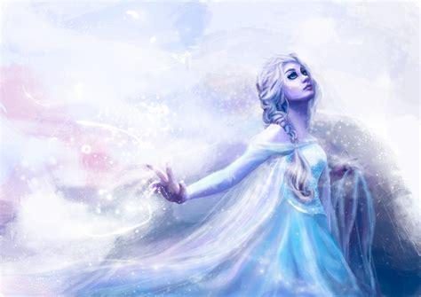 Disney Frozen Snow Elsa Artwork Mood