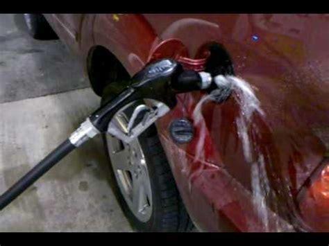 2007 dodge durango fuel tank overflow problem youtube
