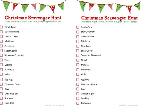 christmas scavenger hunt ideas victoria b