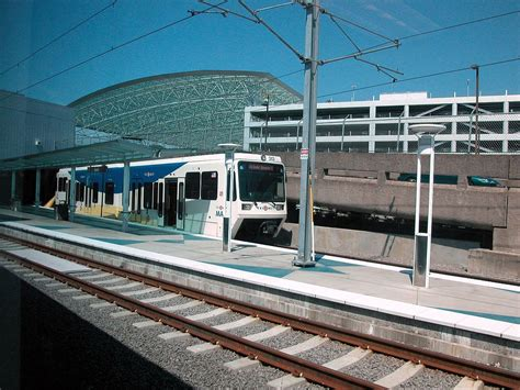 Light Rail To Airport by Portland International Airport Max Station