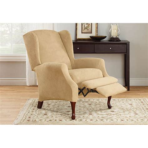 Slipcovers For Wing Chairs Design Ideas Wing Chair Recliner Slipcover Home Furniture Design