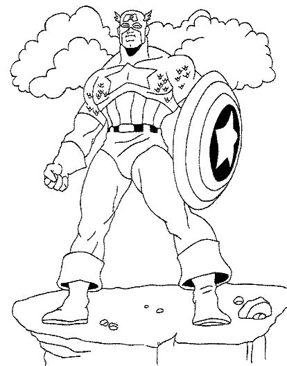 captain america coloring pages best gift ideas blog