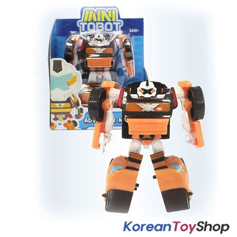 Toys Tobot Mini C By Anicore tobot mini adventure x transformer robot to car figure