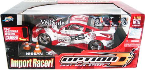Scion Tc White Option D Skala 1 64 nissan 350 z w veilside andrew racing v wheels option