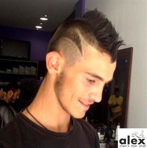 easy hair tattoo designs simple but nice hair tattoo mohawk haircuts pinterest