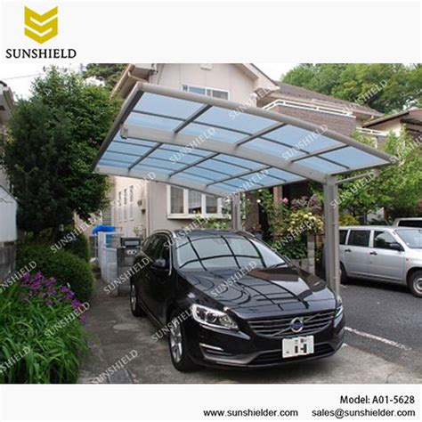 Single Carport Kit by Single Carport In Different Shapes Sunshield Outdoor