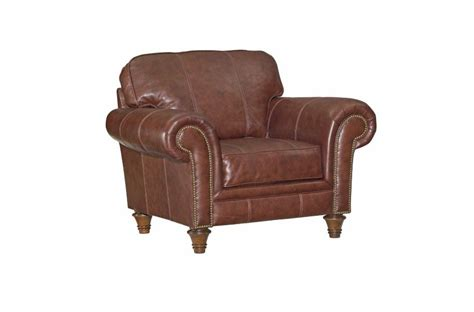 leather chair with armrests bromley broyhill furniture