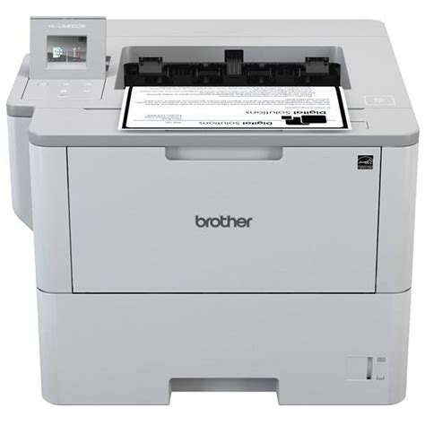 Printer Hl L6400dw Print Monochrome Wifi Diskon hll640dw mono laser printer 50ppm wifi duplex touchscreen lcd officemachines net