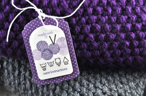 Labels For Handmade Knitted Items - gift tags for handmade items my favorite things