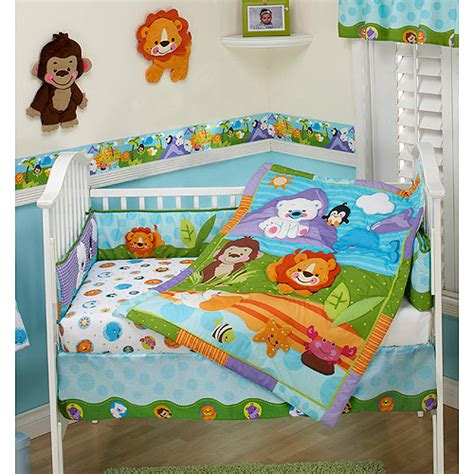 Fisher Price Bedding Set Find The Fisher Price 3 Pc Crib Bedding Set For Less At Walmart Save Money Live Better