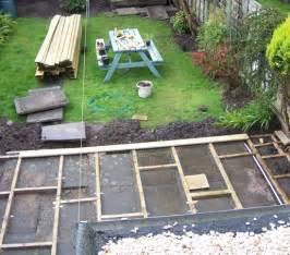 home diy how to build a backyard deck