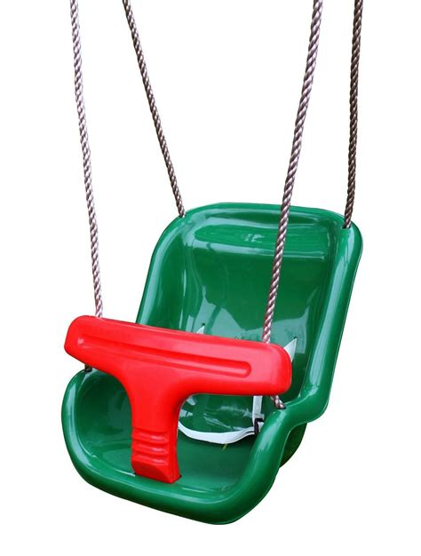 outdoor baby swing outdoor baby swing green seat with adjustable ropes ebay