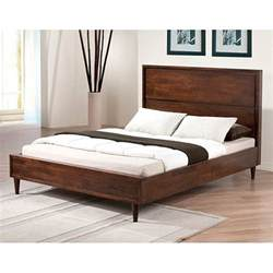 vilas platform size mid century style bed 80004552
