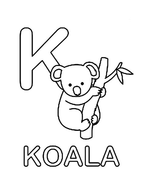printable images of koalas free coloring pages of koala