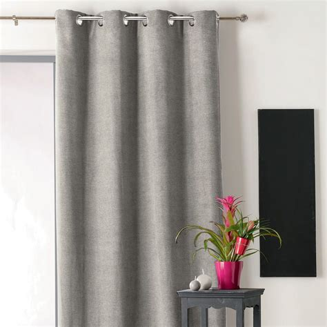 Rideau Occultant Isolant by Rideau Occultant Isolant 140 X H260 Cm Alaska Gris