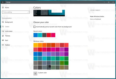color of change how to save a theme in windows 10 creators update