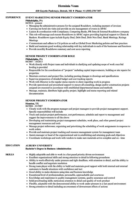 11 project coordinator resume sample construction job resume
