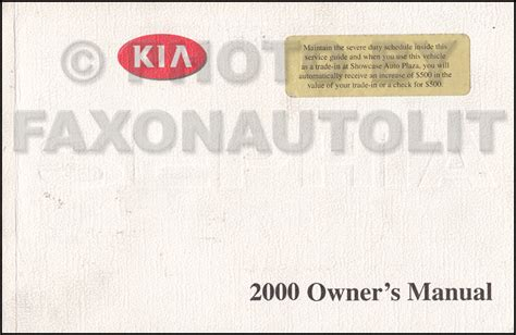 free online auto service manuals 2000 kia sephia free book repair manuals 2000 kia sephia inspection manual original