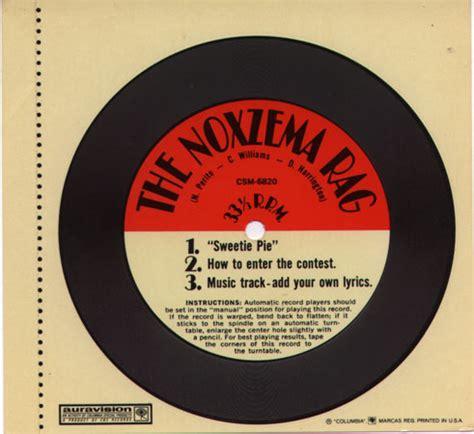 contest record noxzema contest record
