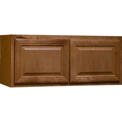 assembled 30x12x12 in wall bridge kitchen cabinet in hton bay cambria assembled 30x12x12 in wall bridge