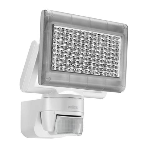 Led Outdoor Security Lights Steinel Xled Home 1 Pir Sensor 12w Led Outdoor Security Flood Light In White